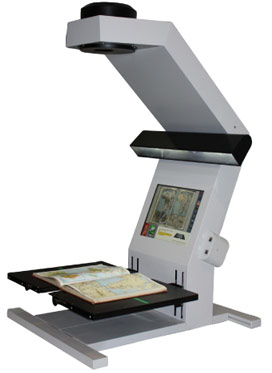 Learn about a few of the book scanners we offer.