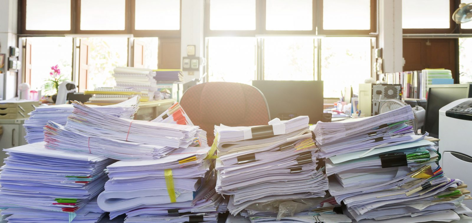 Learn why your office needs a document management system.