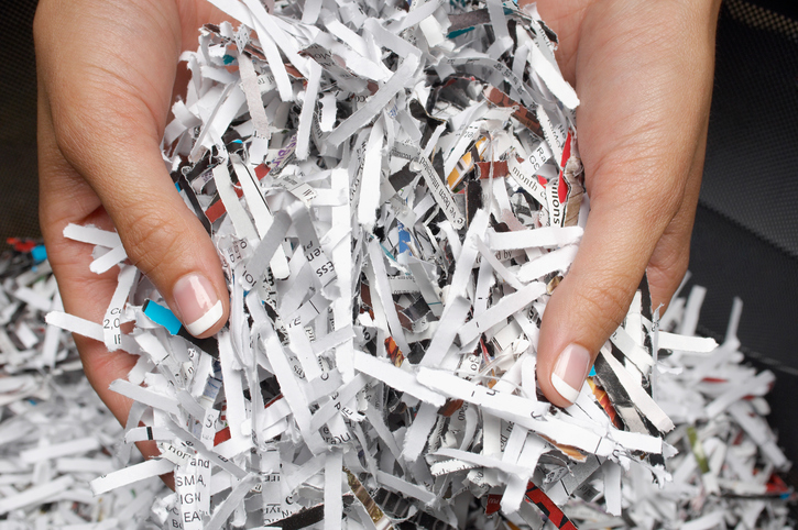 Take a look at our tips on what documents to shred, and which to keep.