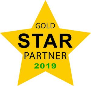 Document Imaging Services COE 2019 Gold Star Partner Badge