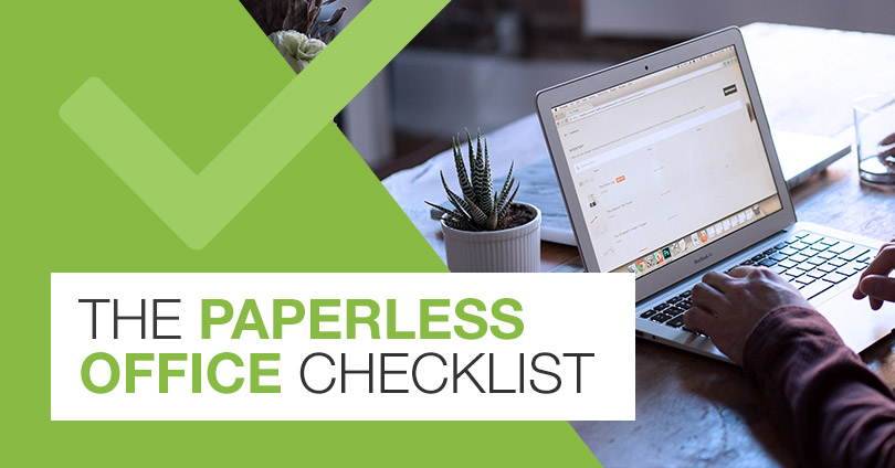 The Paperless Office Checklist | Micro Records